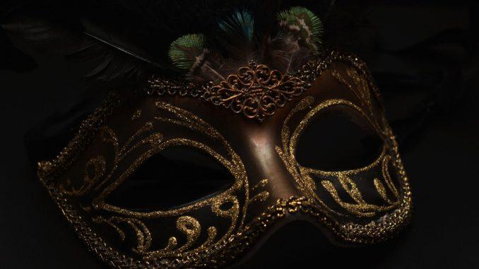 Colombina venezianische Halbmaske kaufen